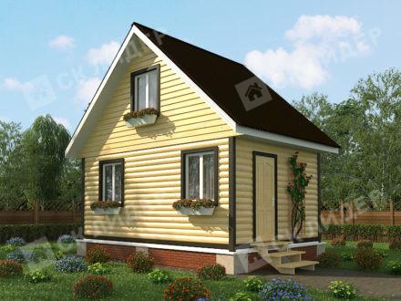 Каркасный дом К-2