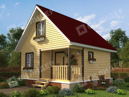 Дом из бруса Б-14