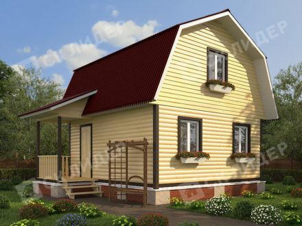 Каркасный дом К-27