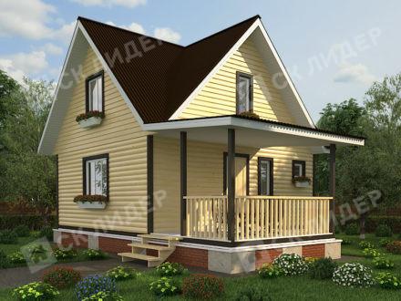 Каркасный дом К-43