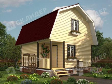 Каркасный дом К-17
