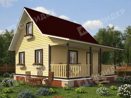 Каркасный дом К-39