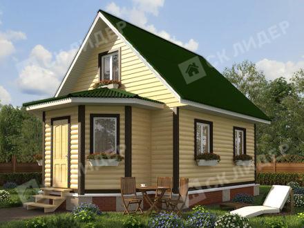 Каркасный дом К-32