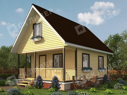 Каркасный дом К-24