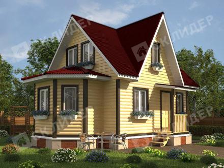 Каркасный дом К-41