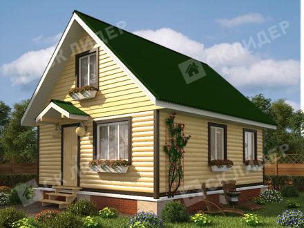 Каркасный дом К-21