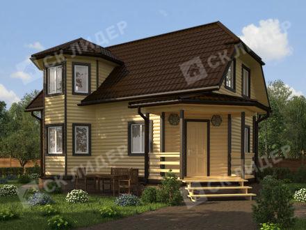 Каркасный дом К-47