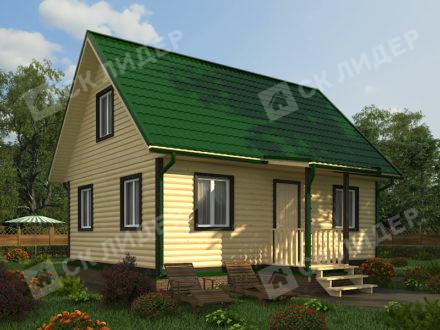 Каркасный дом К-50