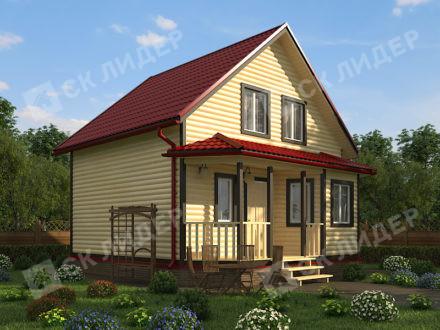 Каркасный дом К-37