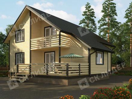 Каркасный дом К-70