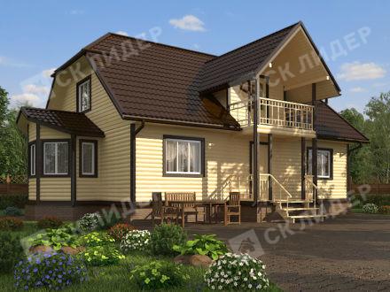 Каркасный дом К-72