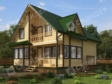 Каркасный дом К-61