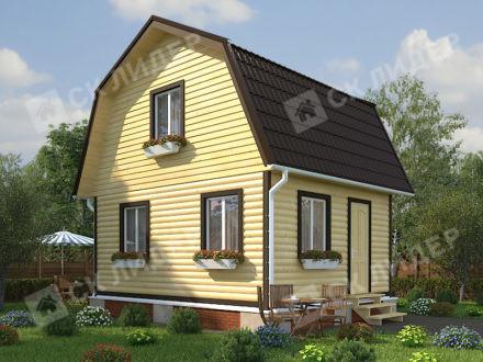 Каркасный дом К-9