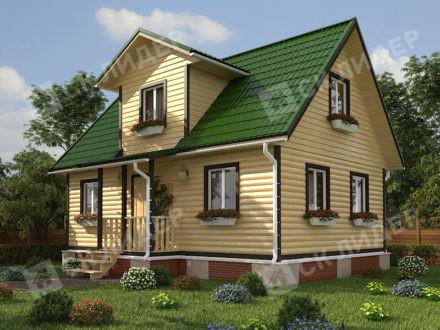 Каркасный дом К-48