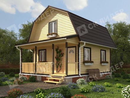 Каркасный дом К-28