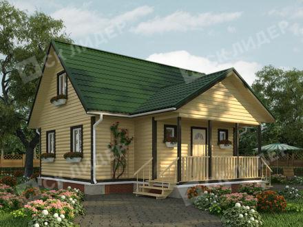 Каркасный дом К-68