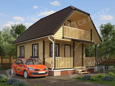 Каркасный дом К-25