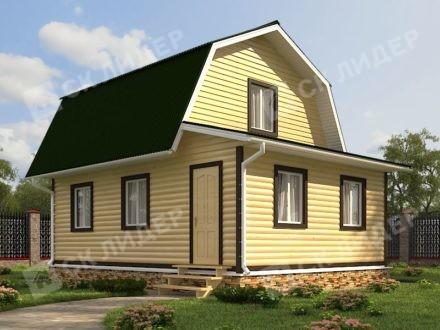 Каркасный дом К-30