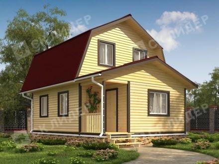 Каркасный дом К-31