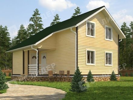 Каркасный дом К-56