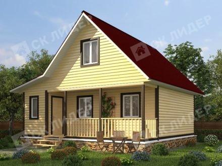 Каркасный дом К-51