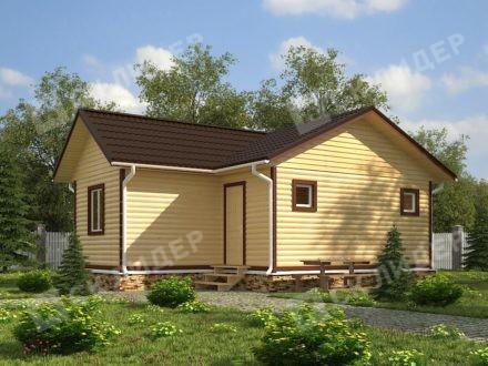 Каркасный дом К-36