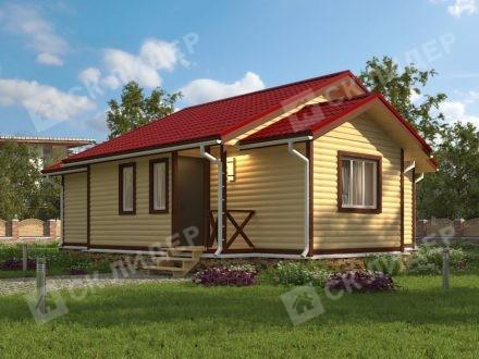 Каркасный дом К-63