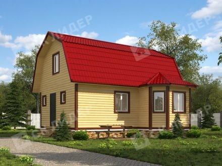 Каркасный дом К-55