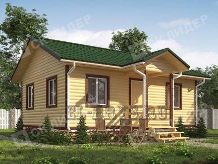 Каркасный дом К-49